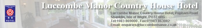 Luccombe Manor, Shanklin, isle of wight