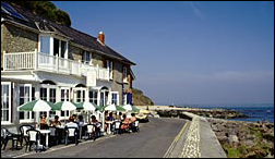 the sea front at Bonchurch